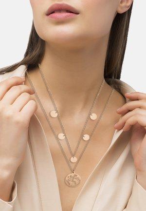 MIT WELTKUG - Necklace - rosegold