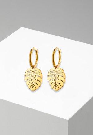 CREOLE FOLIUM POLIERT - Earrings - goldfarben