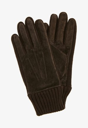 LIV - Fingerhandschuh - dark brown