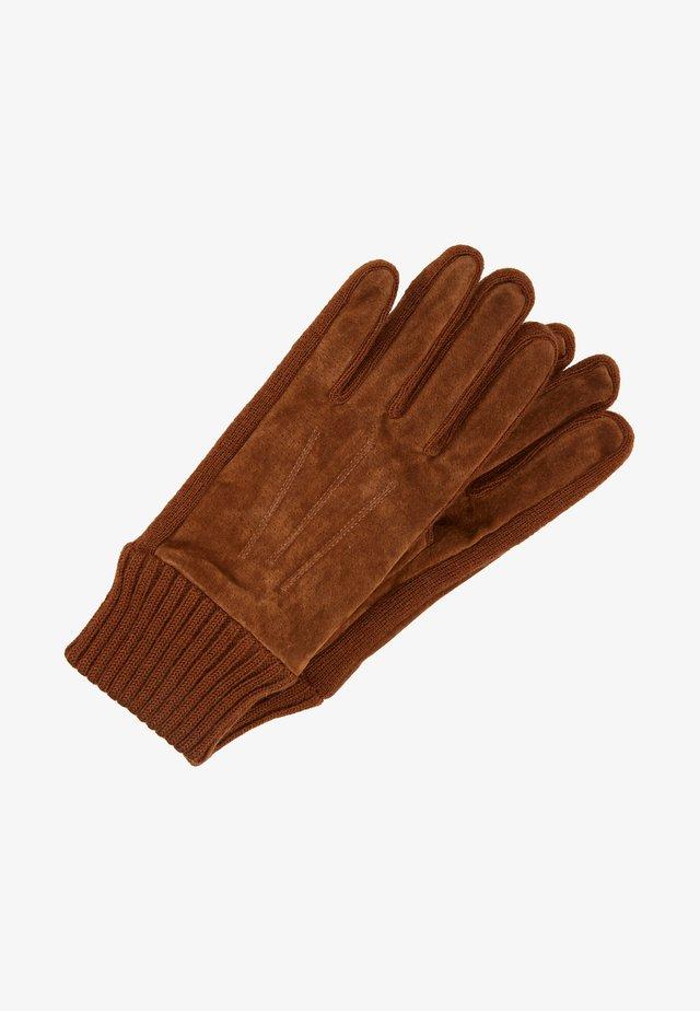 LIV - Fingerhandschuh - tobacco