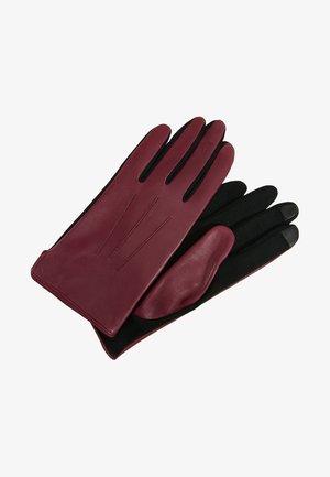 MIA - Rękawiczki pięciopalcowe - berry