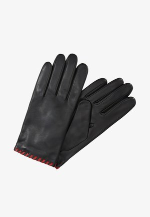 BELLA - Gloves - black/crimson