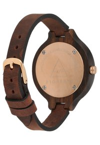 Kerbholz - HINZE - Montre - ebony/tanned brown - 2