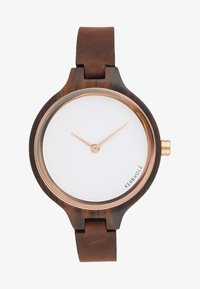 Kerbholz - HINZE - Montre - ebony/tanned brown - 1