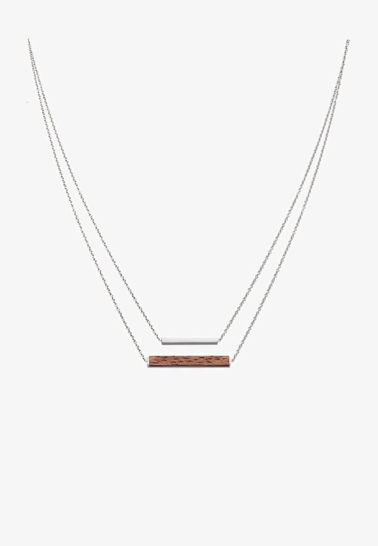 Kerbholz - Necklace - silver-coloured