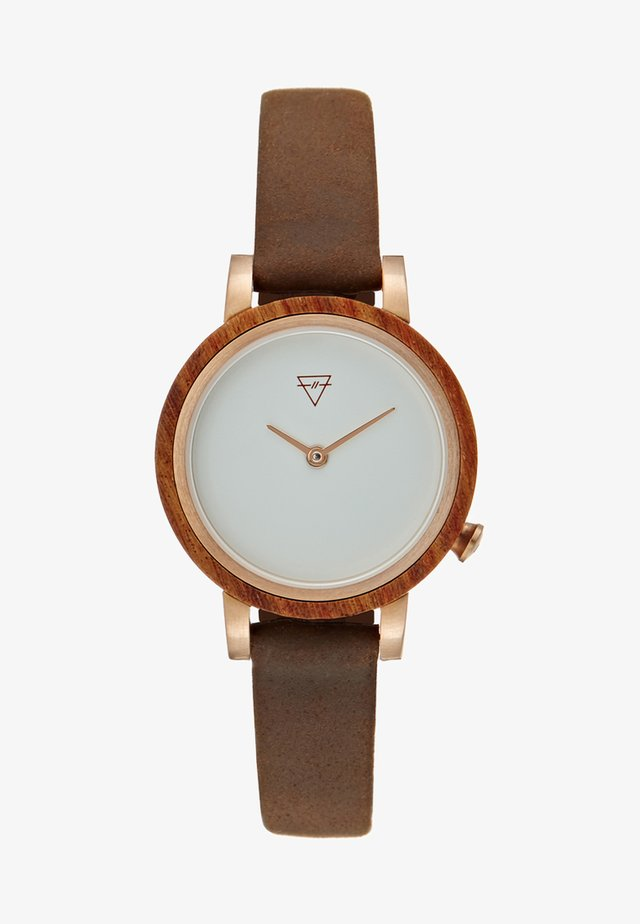 LUISE - Watch - tobacco