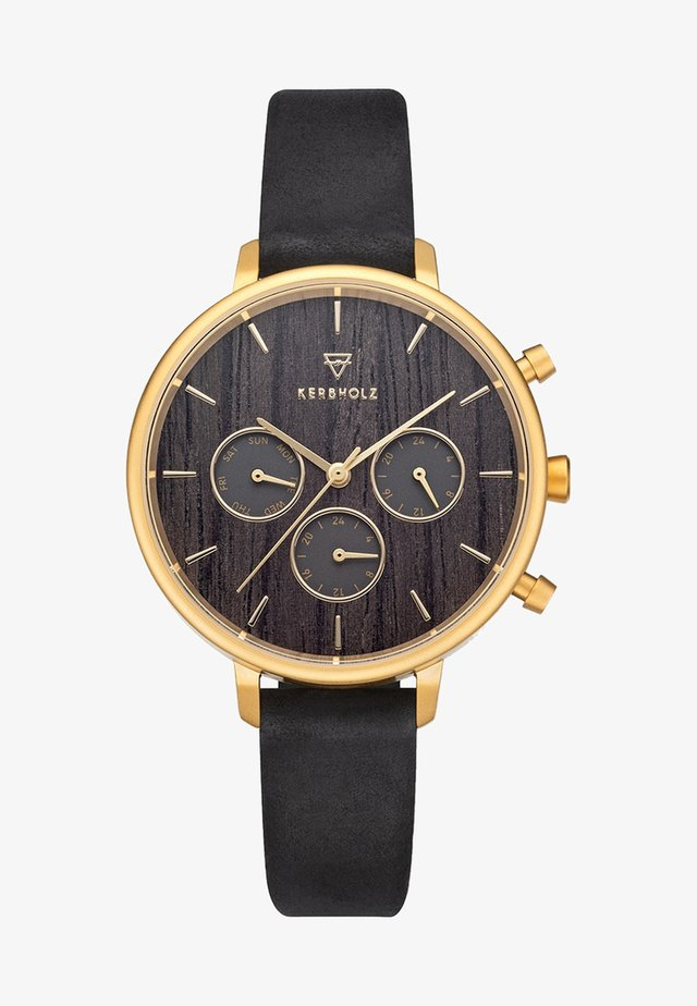 HELENE - Chronograph watch - black