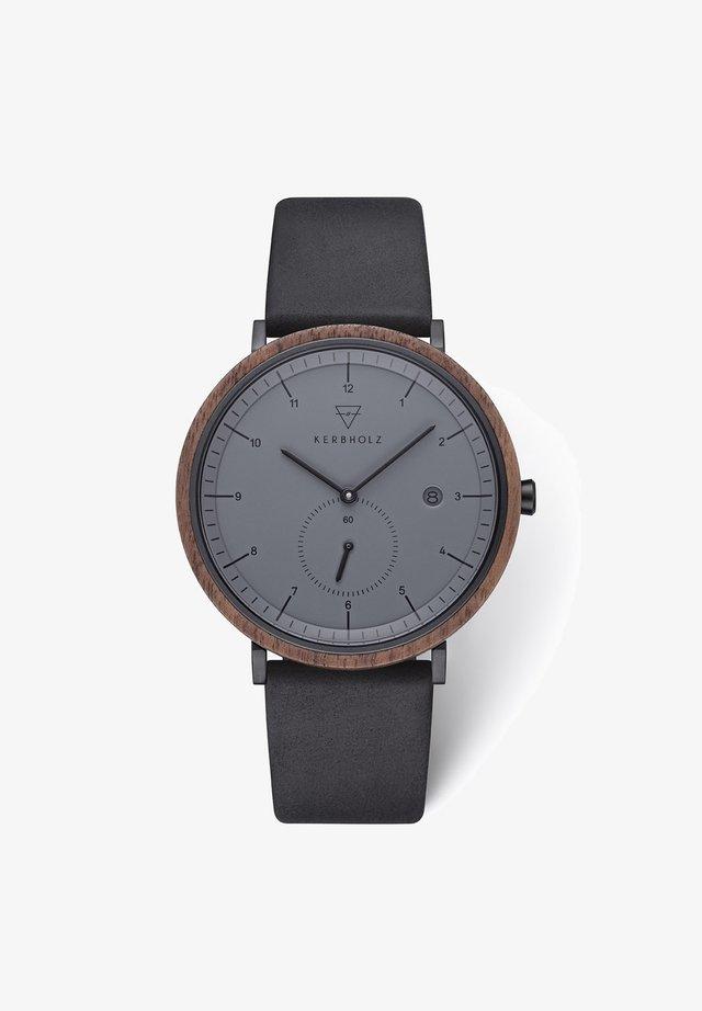 ANTON - Watch - schwarz