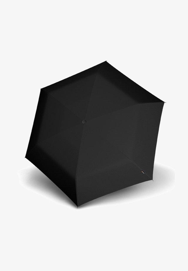 SLIM SMALL - Umbrella - superthin black
