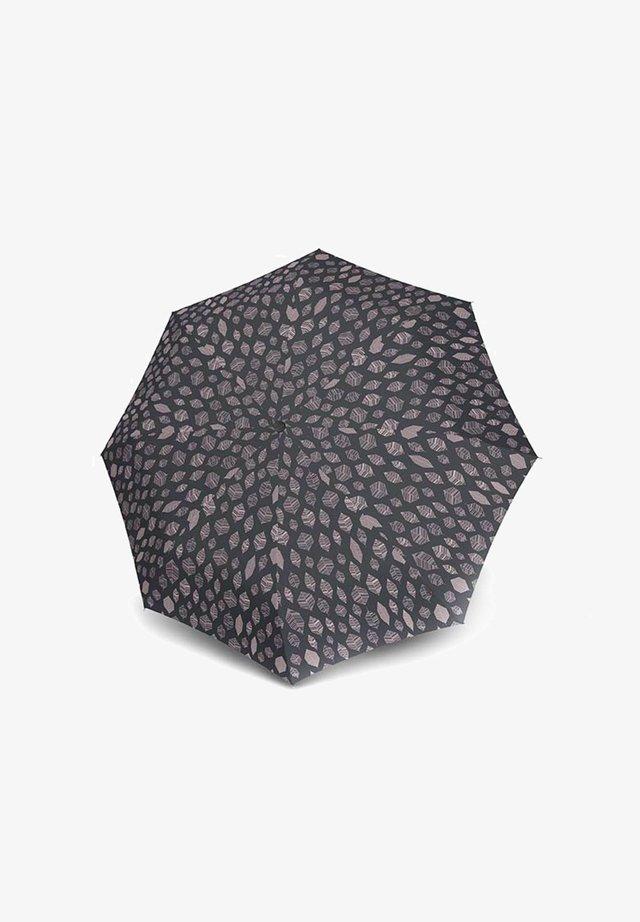 Umbrella - leaves grey