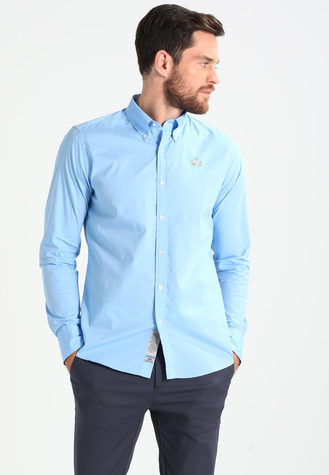 SLIM FIT - Košile - blue bell