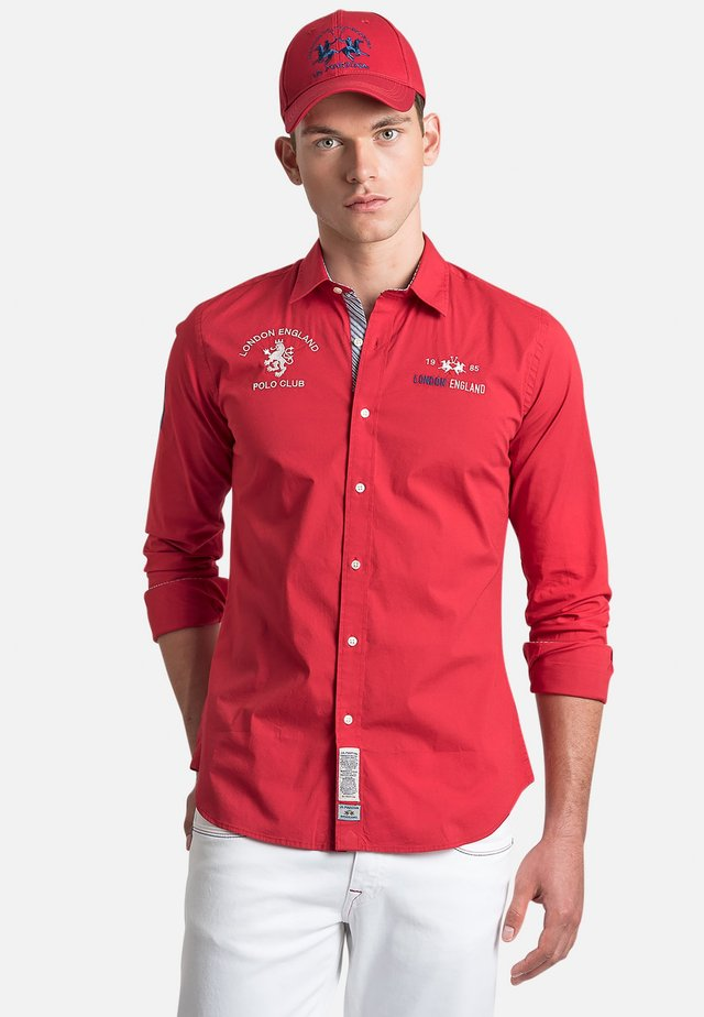 ORVAL - Camicia - red