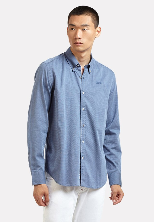 Pepe - Camicia - navy/off white