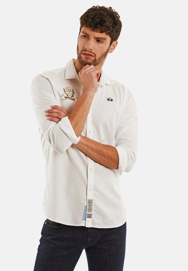 PAPIRO - Camicia - optic white