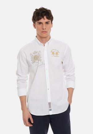 PELEUSIO - Shirt - optic white
