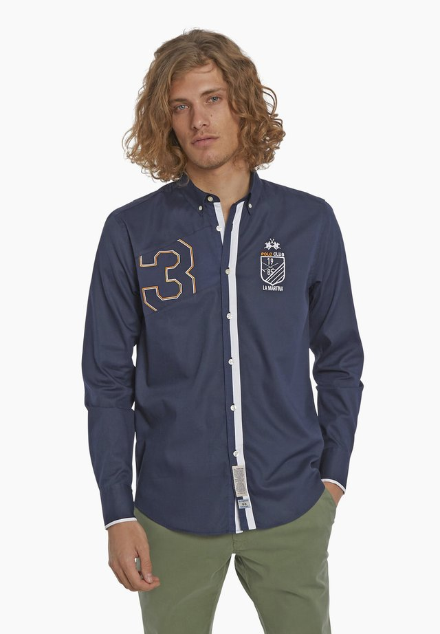 PERRY VALE - Shirt - navy