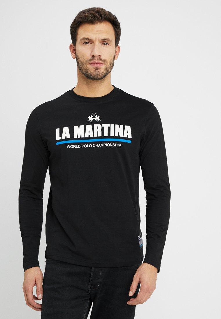 La Martina - MAN - Long sleeved top - black