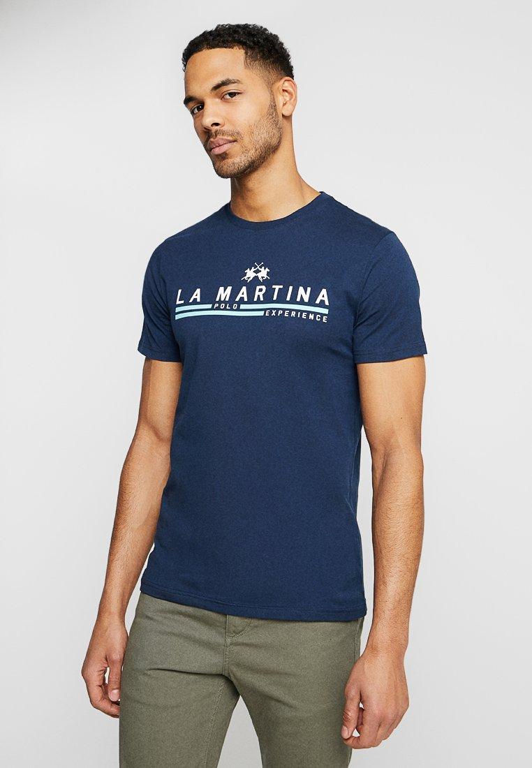 La Martina - MAN  - T-Shirt print - navy