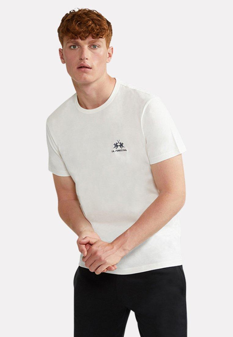 La Martina - MARC - Basic T-shirt - off-white