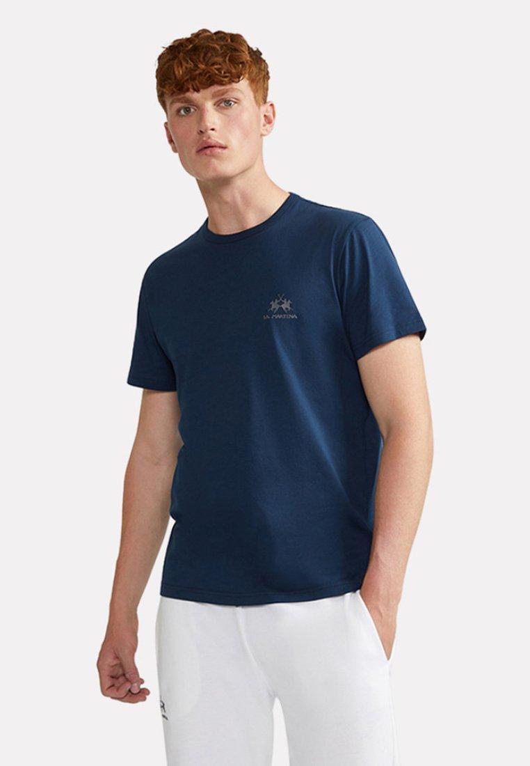 La Martina - MARC - Basic T-shirt - navy