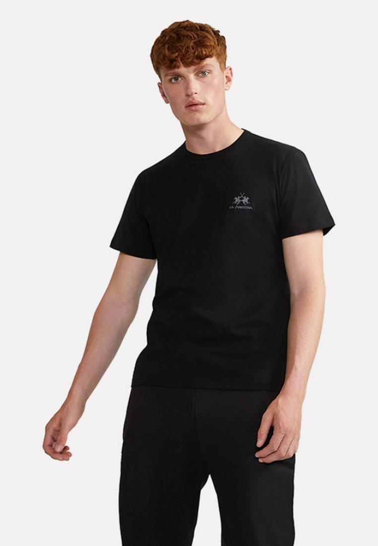 La Martina - MARC - Basic T-shirt - black