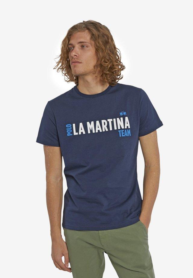 PATRICE - T-Shirt print - navy