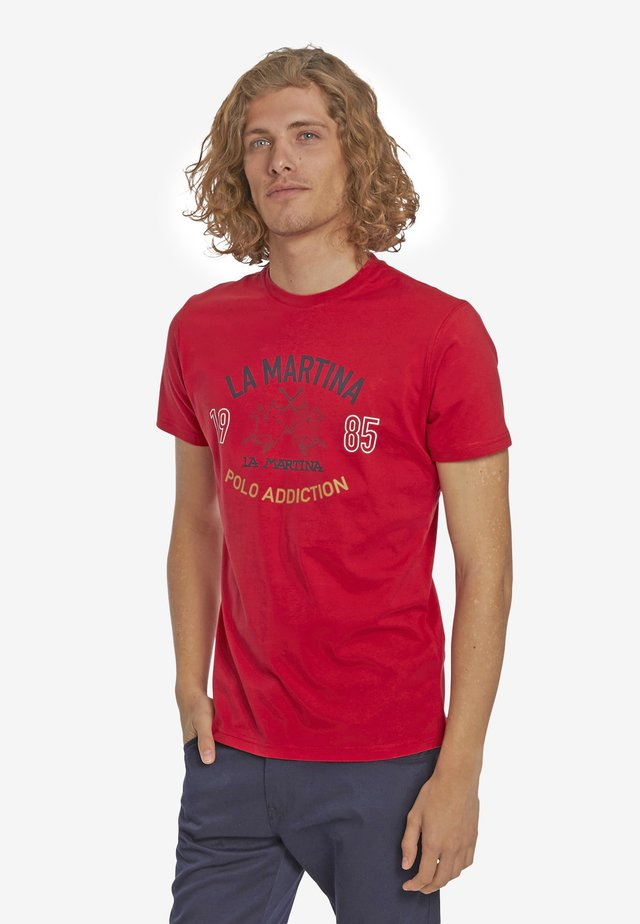 PIERRE - T-Shirt print - formula one