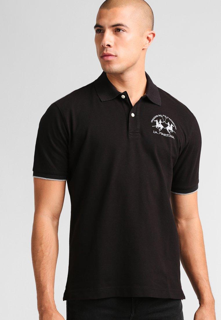 La Martina - Koszulka polo - black