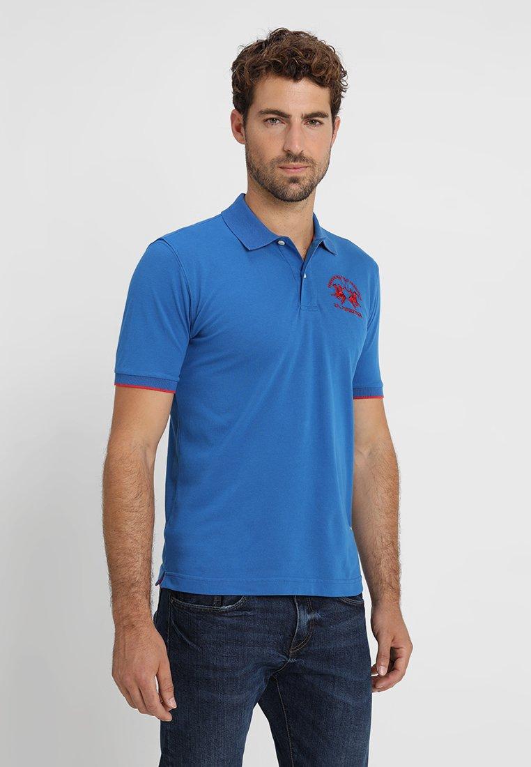 La Martina MIGUEL - Koszulka polo - classic blue