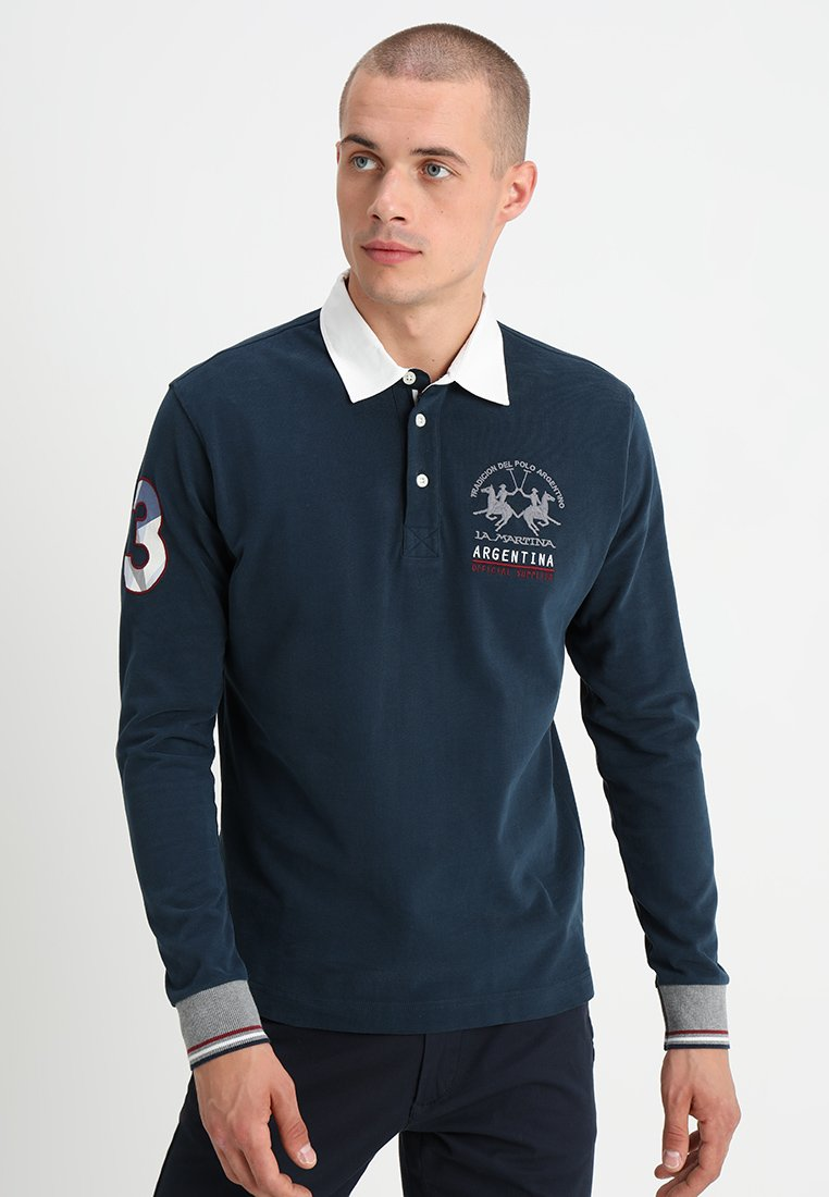 La Martina - HEAVY - Polo shirt - navy
