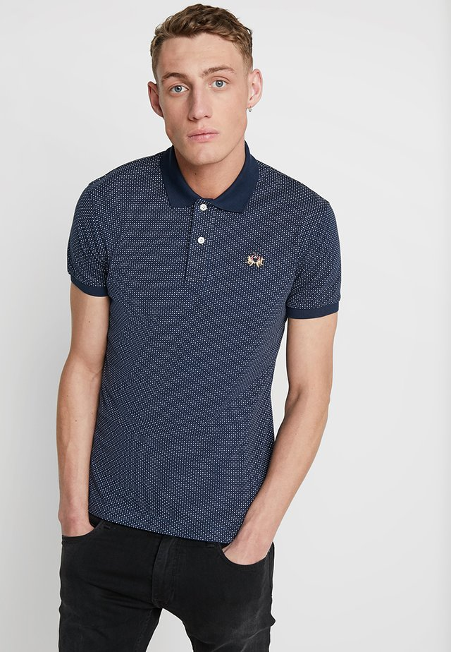 Poloshirt - navy/optic white