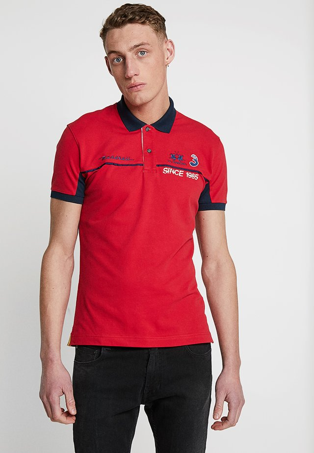 Poloshirt - barbados cherry