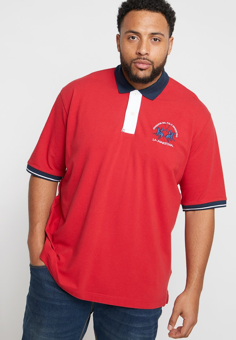 La Martina - Polo shirt - barbados cherry