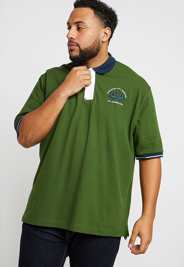 Polo shirt - garden green