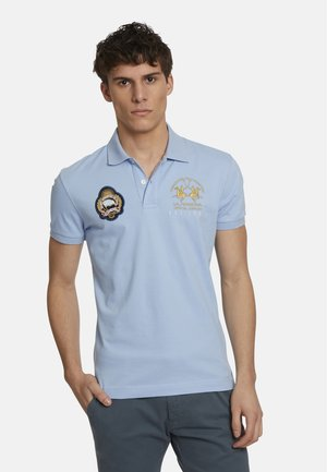 Polo shirt - blue bell