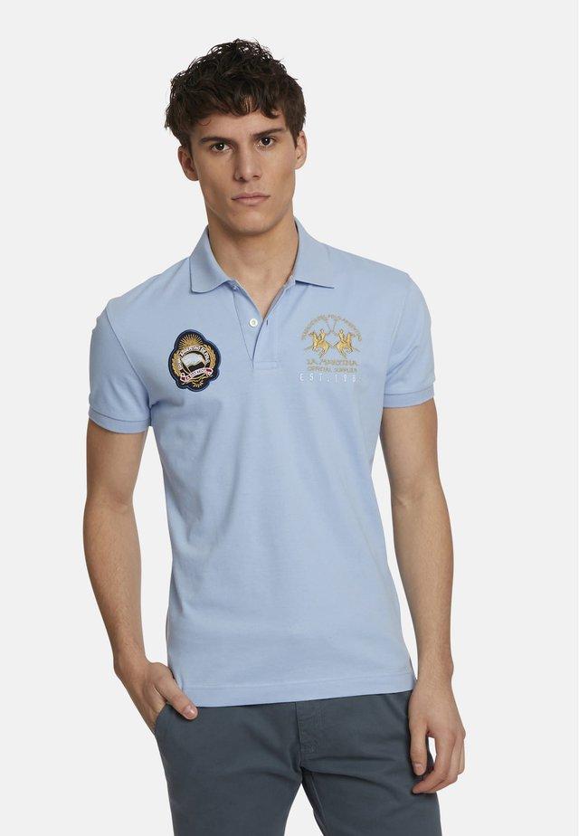 Polo shirt - blue bell