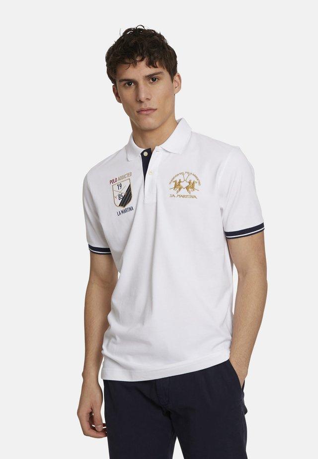 Polo shirt - optic white