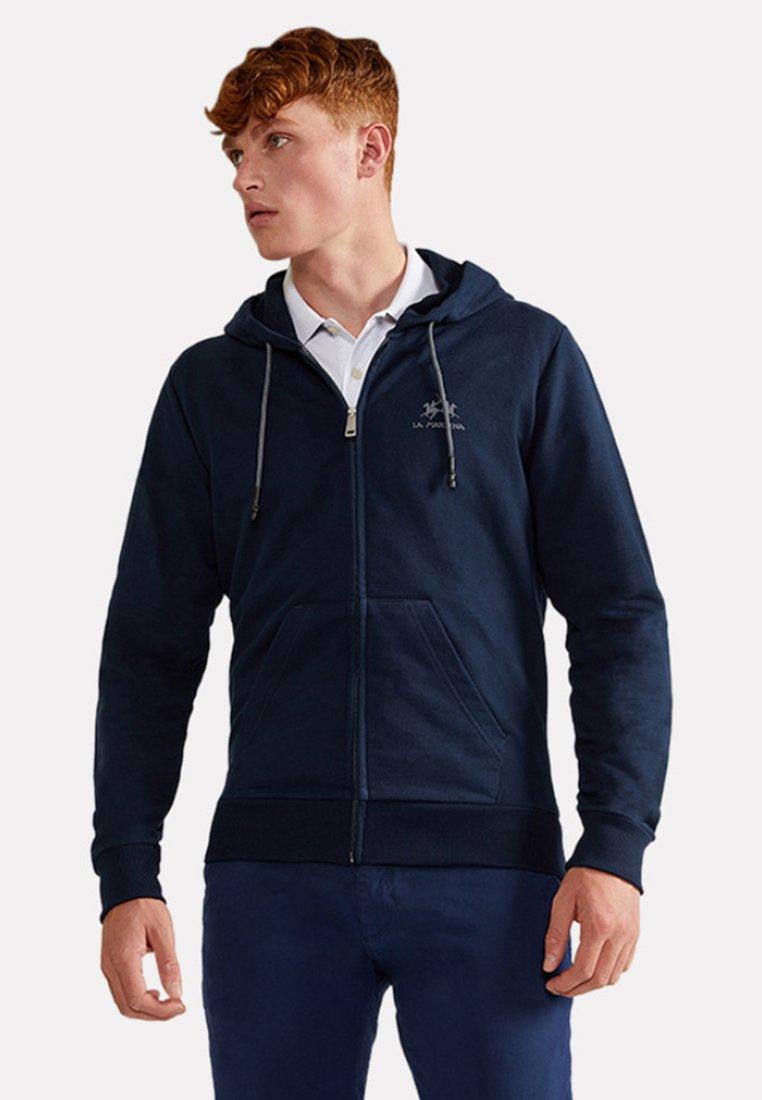 La Martina - THIAGO - Zip-up hoodie - navy