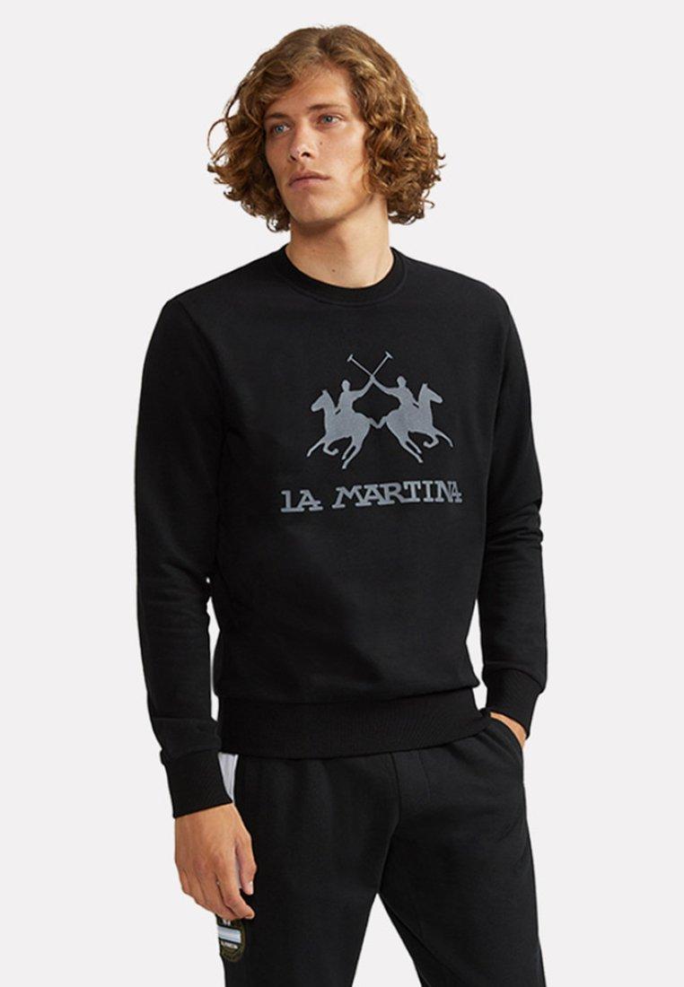 La Martina - DOMINGO - Sweatshirt - black