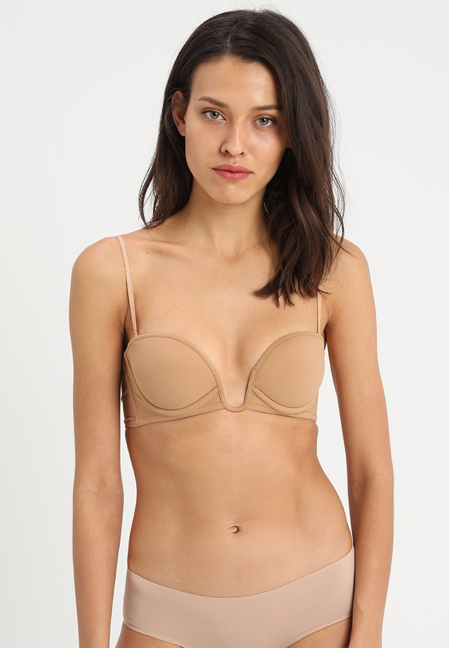PADDED BANDEAUX WITH WIRE - Multiway / Strapless bra - nude