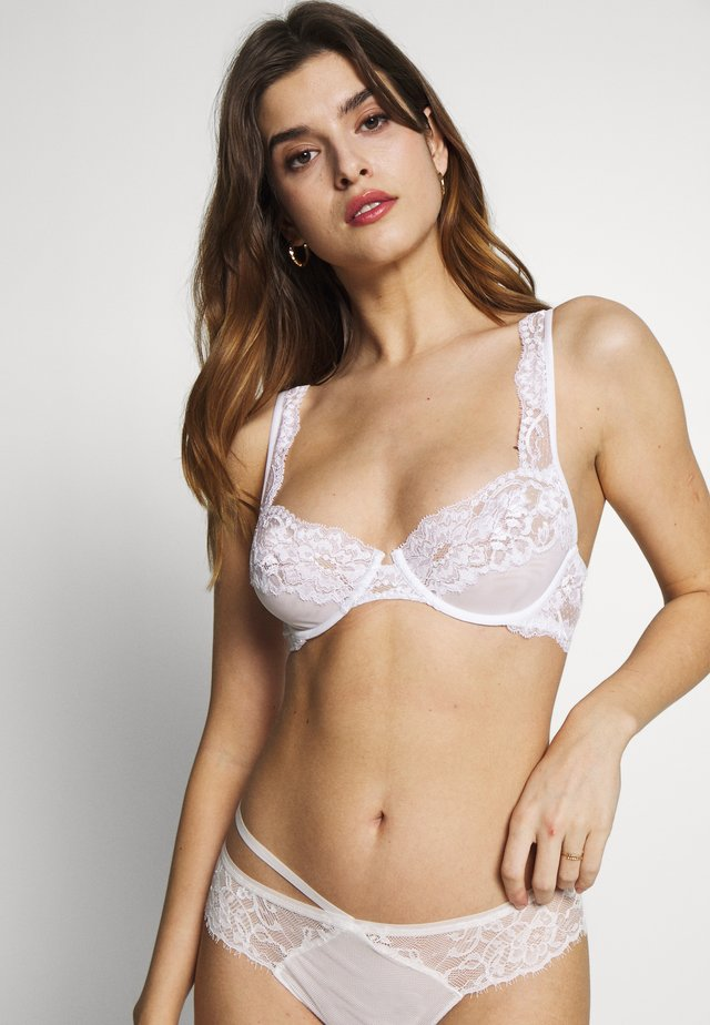 TRES SOUPLE BRA UNDERWIRE NO PADDED - Underwired bra - white