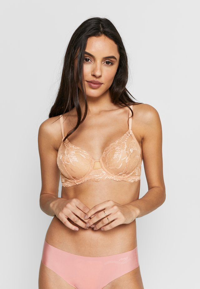 BRIGITTA BRA UNDERWIRE NO PADDED - Underwired bra - powder pink