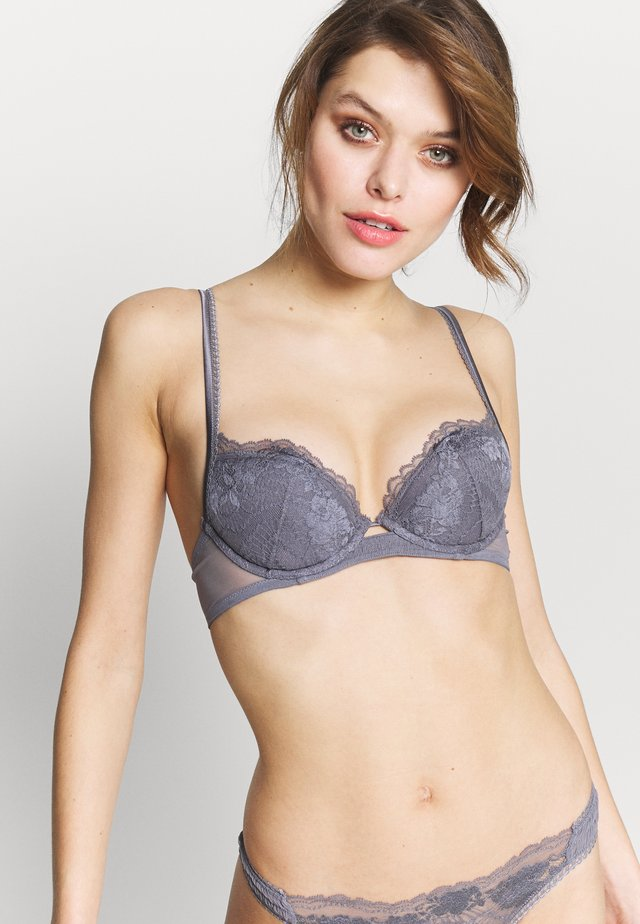 LAPIS PADDED WITH WIRE - Push-up bra - silver