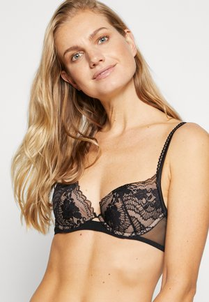 LAPIS PADDED WITH WIRE - Soutien-gorge push-up - black