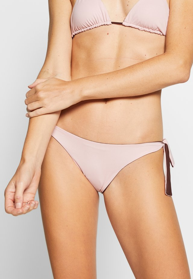 DOUBLE VISION RIBBON BRAZILIAN BRIEF - Bikiniunderdel - pink powder