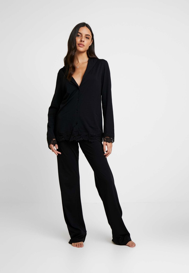 La Perla - TRES SOUPLE NIGHT WEAR LONG - Pyjama - black