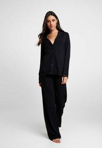 La Perla - TRES SOUPLE NIGHT WEAR LONG - Pyjama - black - 1