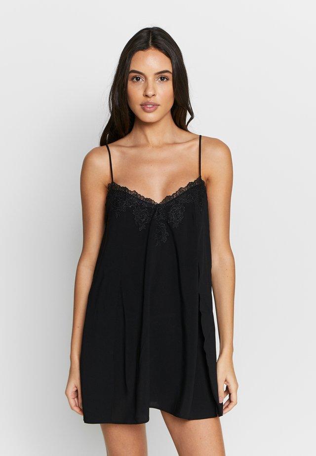 BELLA BABY DOLL - Noční košile - black
