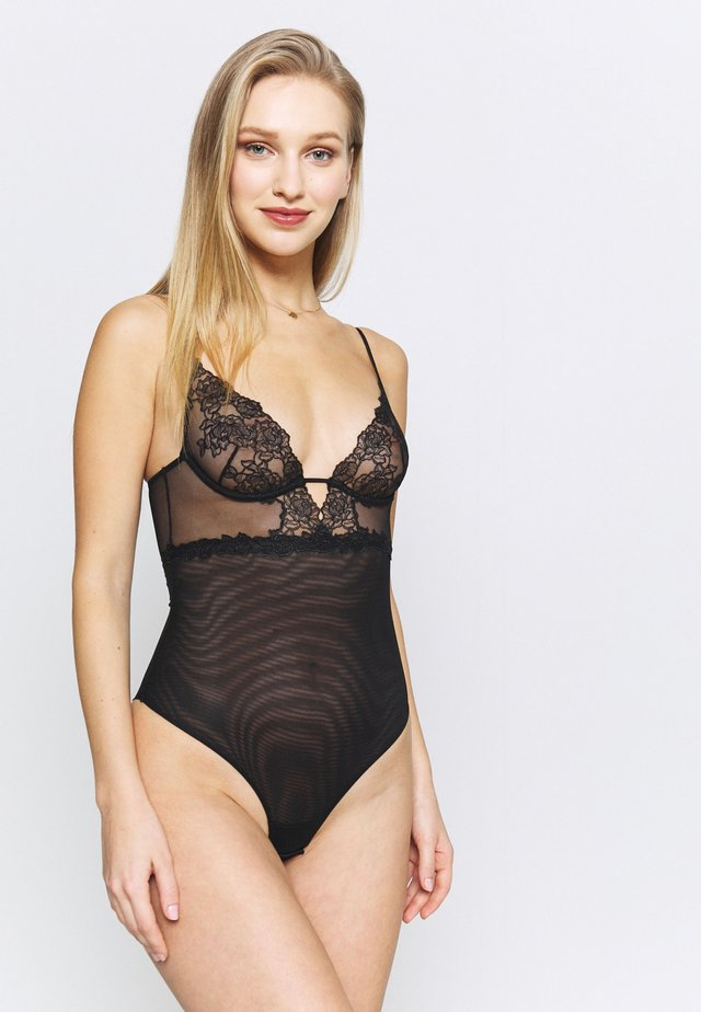 BELLA WITH WIRE NO PADDED - Body - black