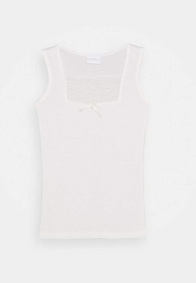 VALENCIENNE - Undershirt - panna